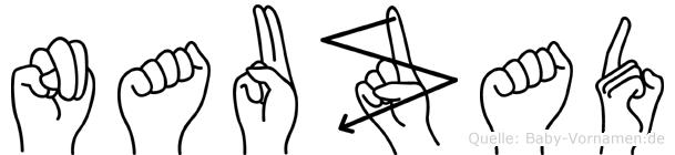Nauzad in Fingersprache für Gehörlose
