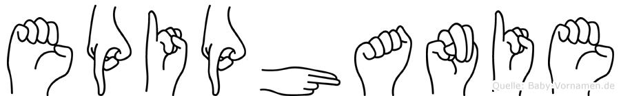 Epiphanie im Fingeralphabet der Deutschen Gebärdensprache