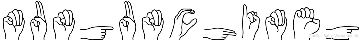 Mungunchimeg in Fingersprache für Gehörlose