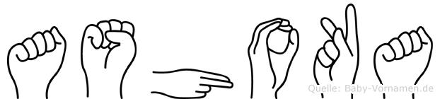 Ashoka in Fingersprache für Gehörlose