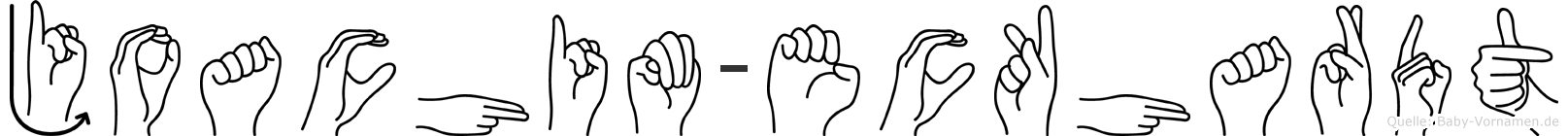 Joachim-Eckhardt im Fingeralphabet der Deutschen Gebärdensprache