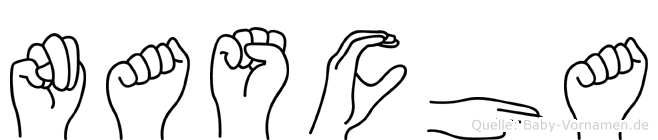Nascha in Fingersprache für Gehörlose