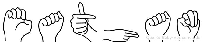 Eathan in Fingersprache für Gehörlose