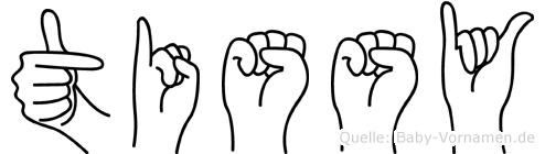 Tissy in Fingersprache für Gehörlose