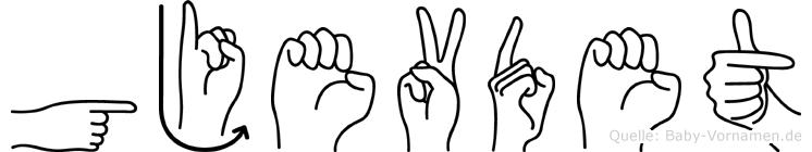 Gjevdet in Fingersprache für Gehörlose