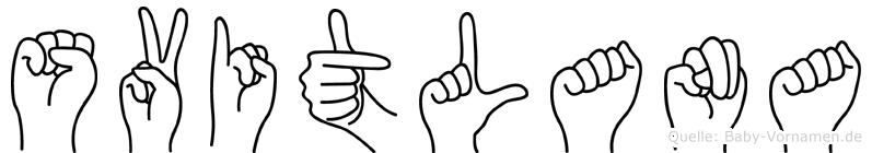 Svitlana in Fingersprache für Gehörlose