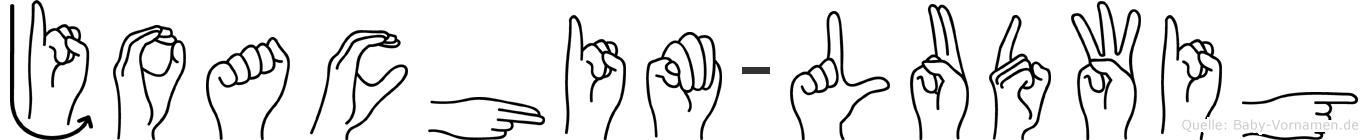Joachim-Ludwig im Fingeralphabet der Deutschen Gebärdensprache