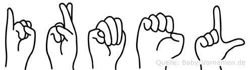Irmel in Fingersprache für Gehörlose