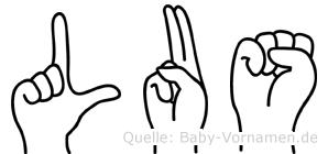 Lus in Fingersprache für Gehörlose