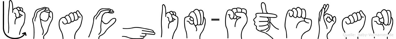 Joachim-Stefan im Fingeralphabet der Deutschen Gebärdensprache