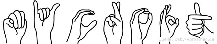 Mycroft in Fingersprache für Gehörlose