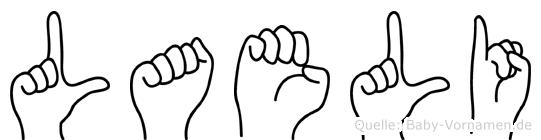 Laeli in Fingersprache für Gehörlose
