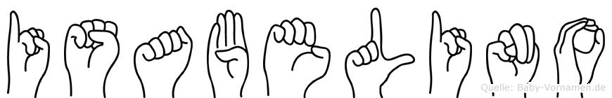 Isabelino in Fingersprache für Gehörlose