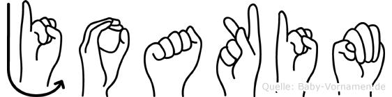 Joakim in Fingersprache für Gehörlose