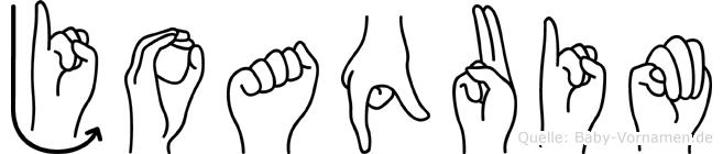 Joaquim in Fingersprache für Gehörlose