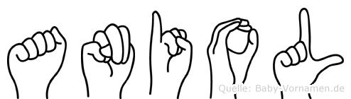 Aniol in Fingersprache für Gehörlose