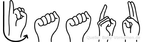 Jaadu in Fingersprache für Gehörlose