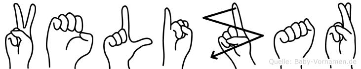 Velizar in Fingersprache für Gehörlose
