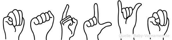 Madlyn in Fingersprache für Gehörlose