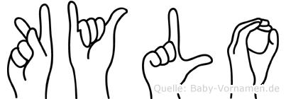 Kylo in Fingersprache für Gehörlose