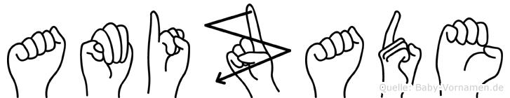 Amizade im Fingeralphabet der Deutschen Gebärdensprache