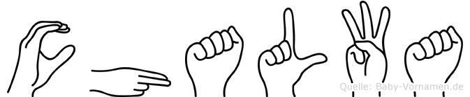 Chalwa in Fingersprache für Gehörlose