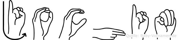 Jochim in Fingersprache für Gehörlose