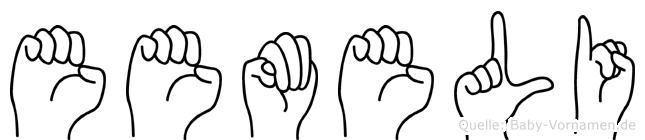 Eemeli in Fingersprache für Gehörlose