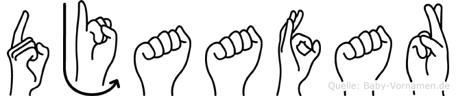 Djaafar in Fingersprache für Gehörlose