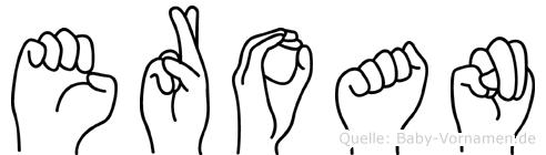 Eroan in Fingersprache für Gehörlose