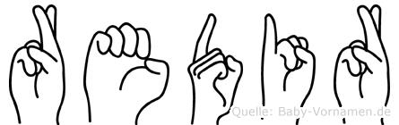 Redir in Fingersprache für Gehörlose