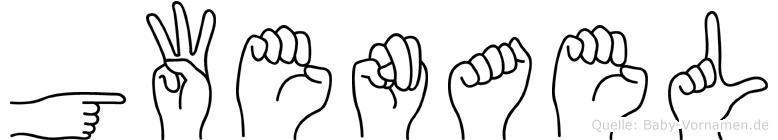 Gwenael in Fingersprache für Gehörlose