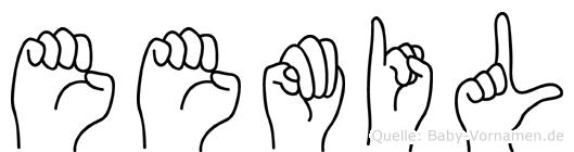 Eemil in Fingersprache für Gehörlose