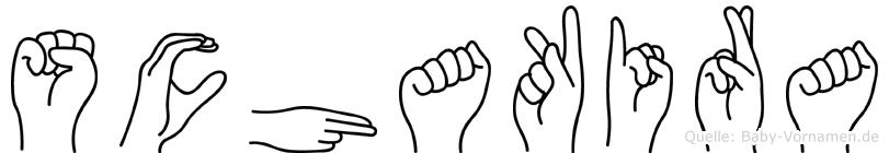 Schakira in Fingersprache für Gehörlose