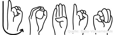 Jobin in Fingersprache für Gehörlose