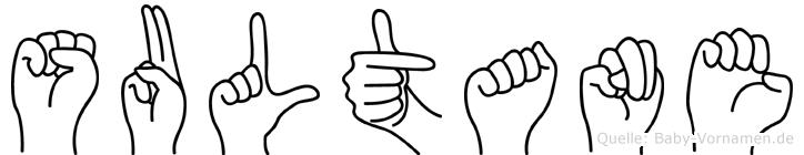 Sultane in Fingersprache für Gehörlose