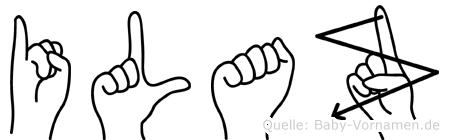 Ilaz in Fingersprache für Gehörlose