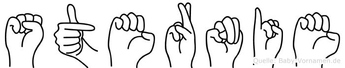 Sternie in Fingersprache für Gehörlose