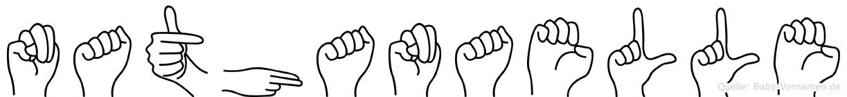 Nathanaelle in Fingersprache für Gehörlose