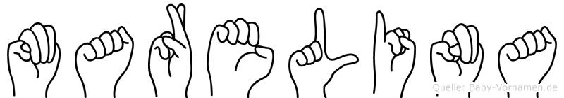 Marelina in Fingersprache für Gehörlose