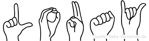Louay in Fingersprache für Gehörlose