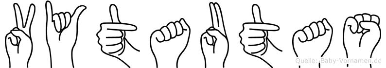 Vytautas in Fingersprache für Gehörlose