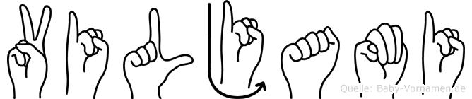 Viljami in Fingersprache für Gehörlose