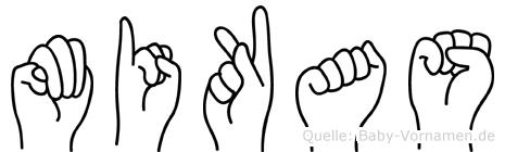 Mikas in Fingersprache für Gehörlose