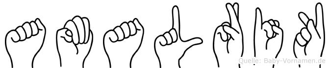 Amalrik in Fingersprache für Gehörlose