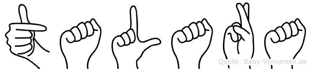 Talara in Fingersprache für Gehörlose
