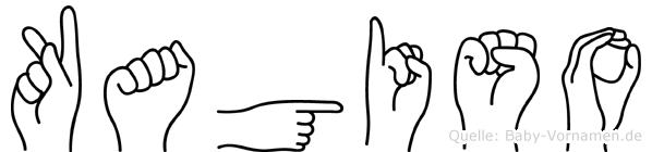 Kagiso in Fingersprache für Gehörlose