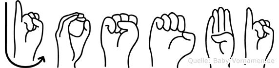 Josebi in Fingersprache für Gehörlose