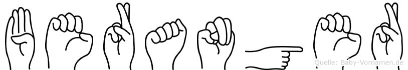 Beranger in Fingersprache für Gehörlose