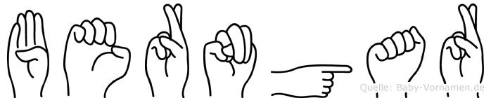 Berngar in Fingersprache für Gehörlose